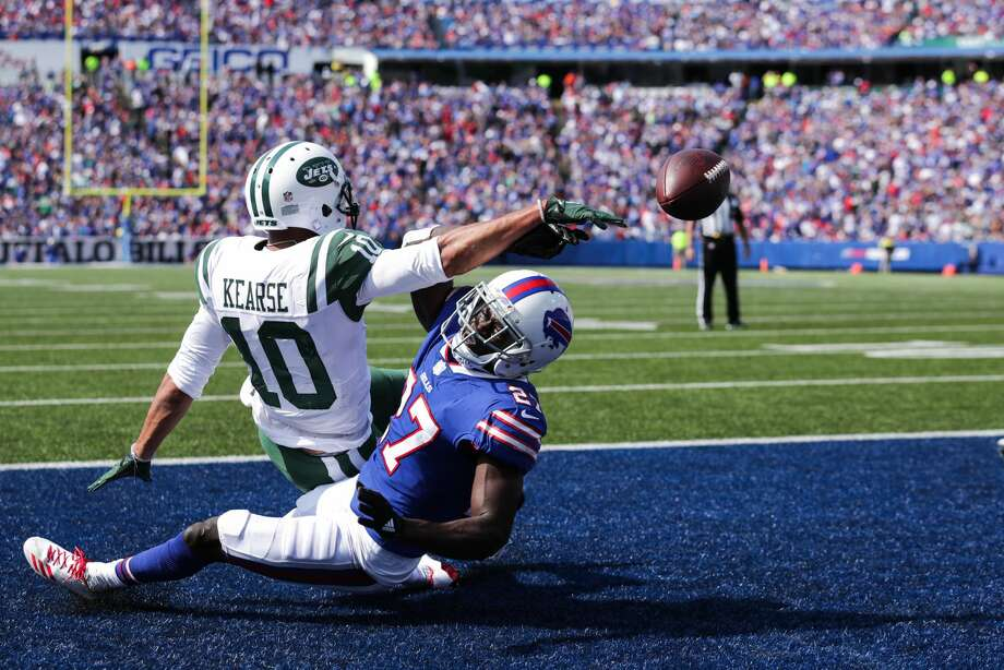 32. New York Jets (0-1)The Jets' leading receiver Sunday? Jermaine Kearse, with seven catches for 59 yards. Maybe they were the winner of the Sheldon Richardson trade after all. (Kidding, of course.) Photo: Brett Carlsen/Getty Images