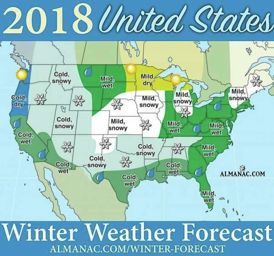 The Old Farmers Almanac released this graphic on its Facebook page Wednesday afternoon.