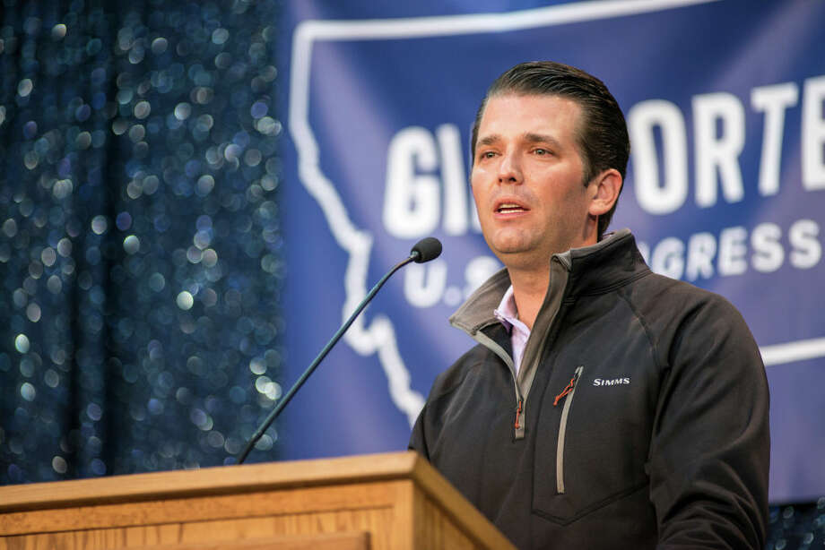 Donald Trump Jr., the eldest son of President Trump, tweeted Tuesday about Seattle Mayor Ed Murray, calling out the fact that he was a Democrat. Photo: William Campbell/Corbis Via Getty Images