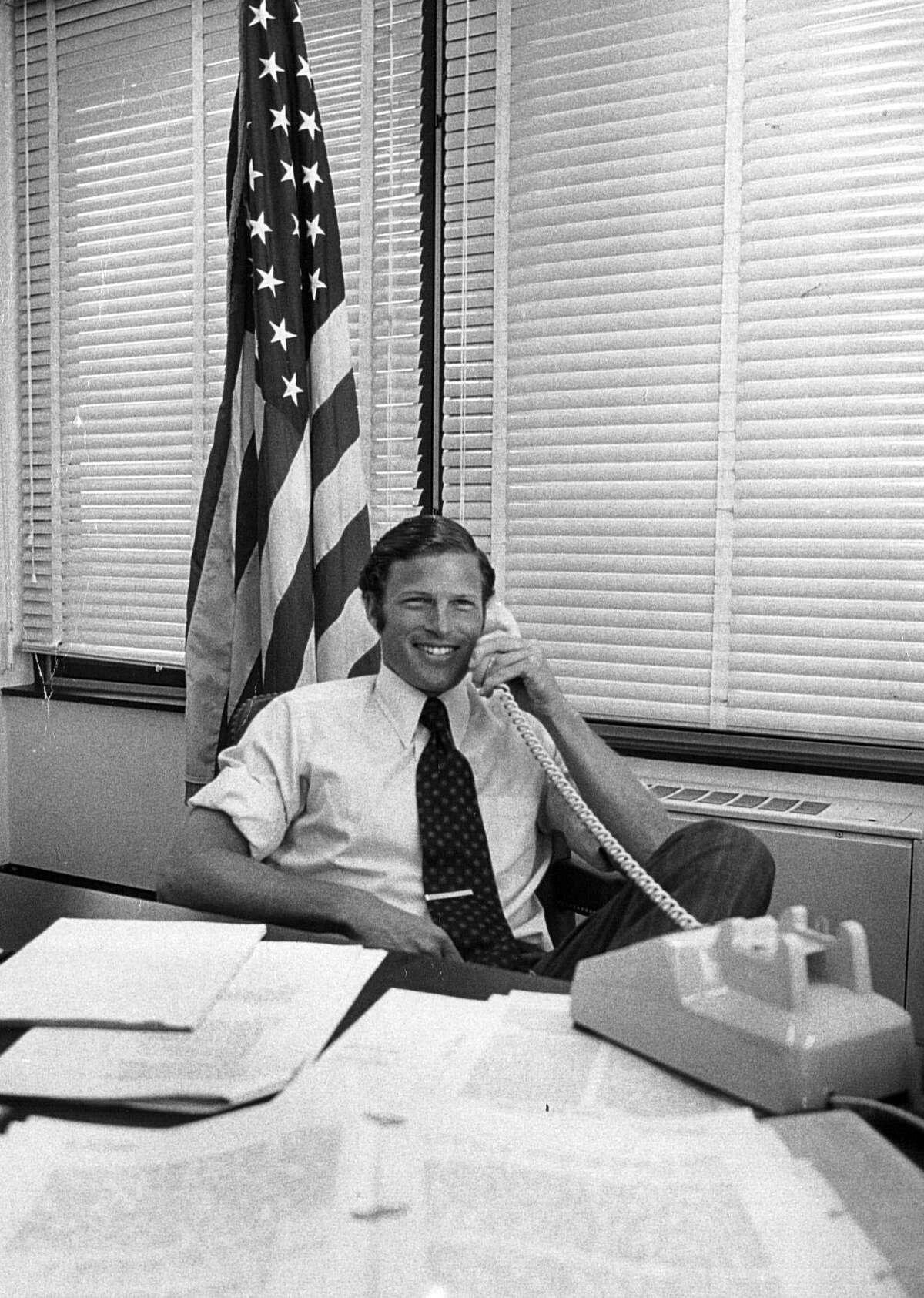 Richard Blumenthal, US Attorney for the District of Connecticut in 1978.