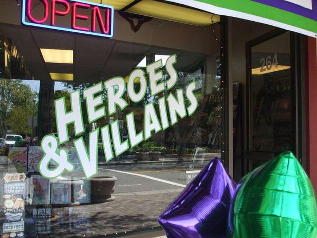 Heroes & Villains Comics