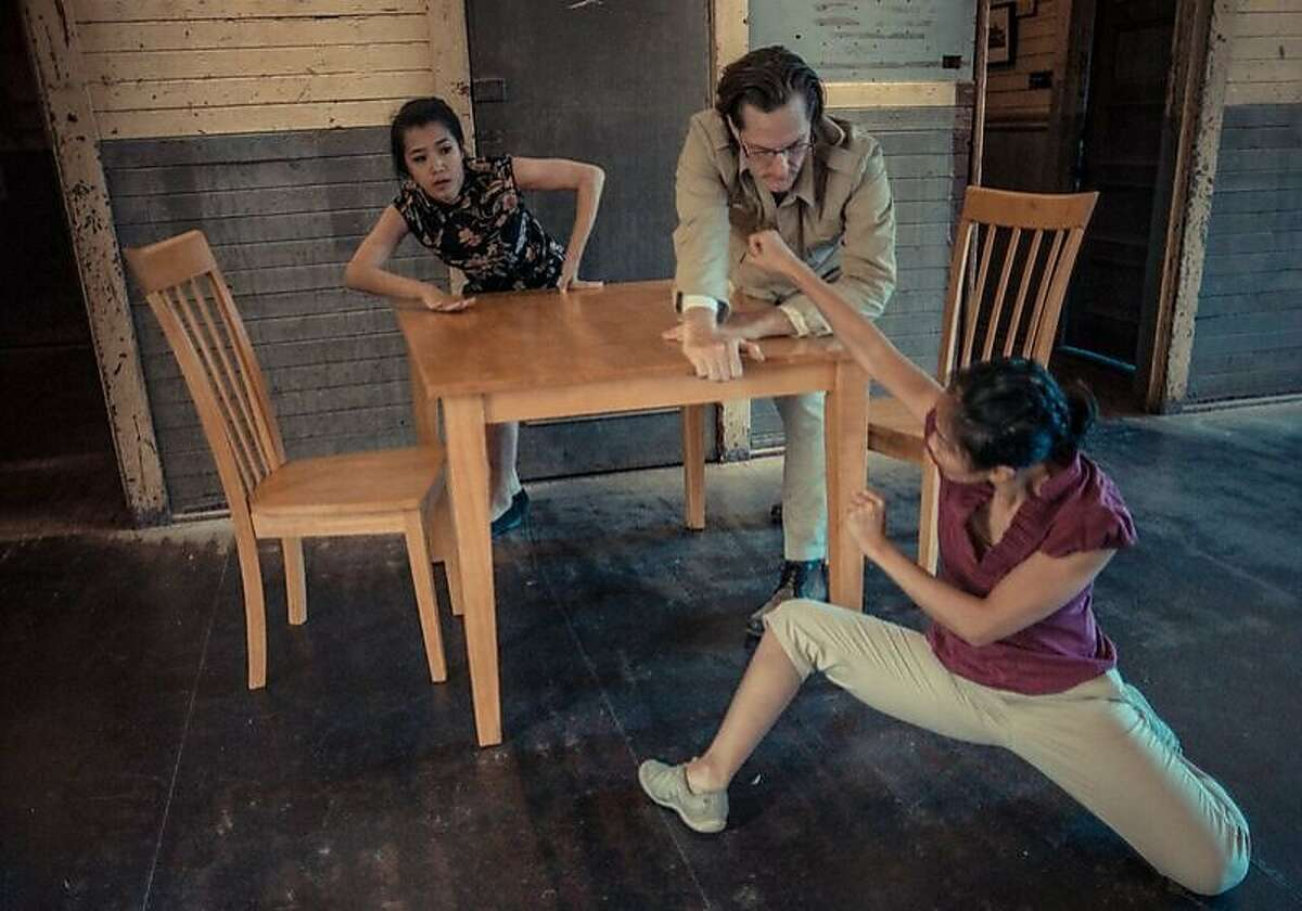 """Yi-Ting Hsu, Lynn Huang, and Eric Koziol, in """"Within These Walls"""""""