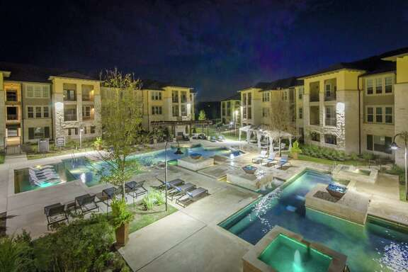 Bluerock Real Estate bought the 320-unit Grand at the Dominion apartment complex last week from Embrey Partners, the local development firm that constructed it in 2015