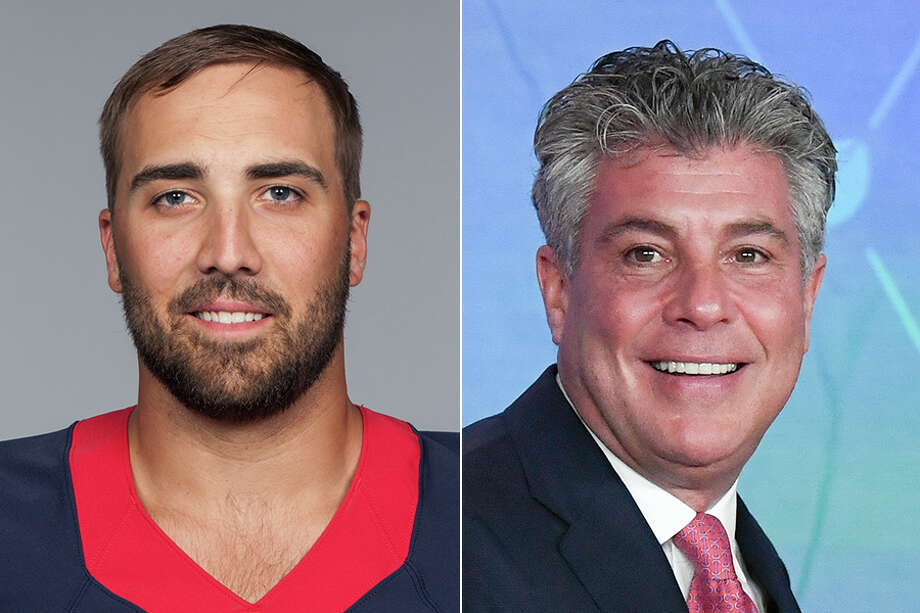 After Texans quarterback Tom Savage was benched following a two-quarter stint in the season opener, his agent Neil Schwartz (right) sounded off in an interview Wednesday. Photo: Houston Chronicle Wire Services