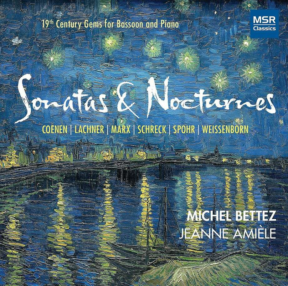 Michel Bettez, Sonatas & Nocturnes Photo: MSR Classics