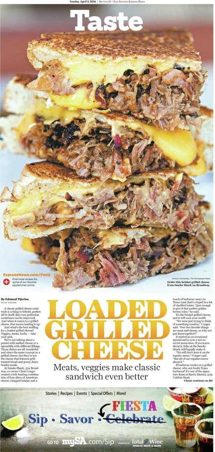 A San Antonio Express-News Taste cover. Photo: PrintExpress PDF Export. - IPA S / Courtesy Photo