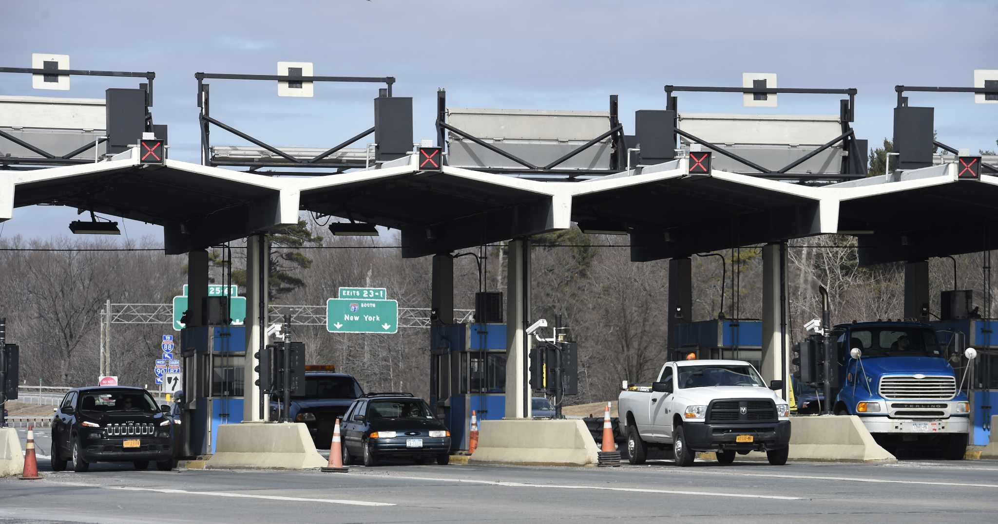Thruway is once again paying for its police patrols for Plaza motors albany ny