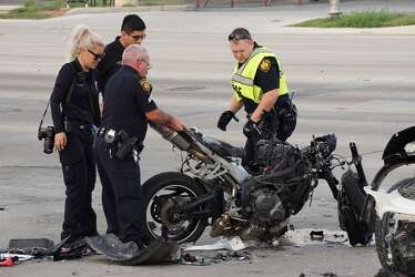 Motorcyclist critical after colliding with SUV while evading