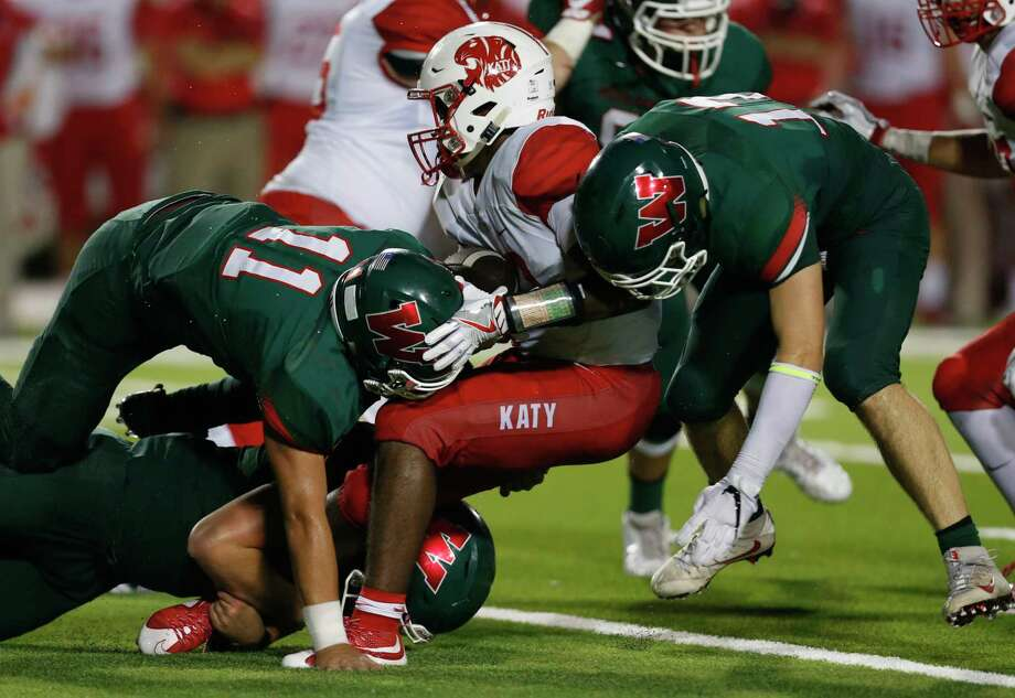 The Woodlands has been a thorn in perennial power Katy's side, winning four of their seven matchups since the 2008 season. Photo: Brett Coomer, Staff / © 2016 Houston Chronicle