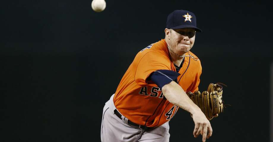 PHOTOS: Astros game-by-gameBrad Peacock has a 3.33 ERA in 18 starts spanning 94 2/3 innings and a 1.77 ERA in 13 relief appearances spanning 20 1/3 innings this season.Browse through the photos to see how the Astros have fared through each game this season. Photo: Ross D. Franklin/Associated Press