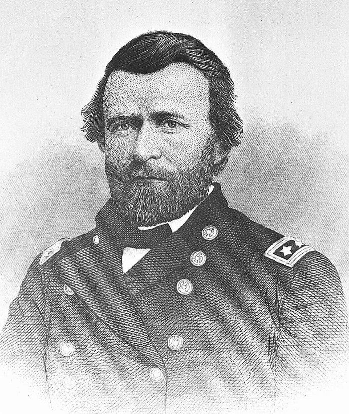 Commander of the Federal Army in the Civil War, Ulysses S. Grant, is seen, date unknown. (AP Photo)