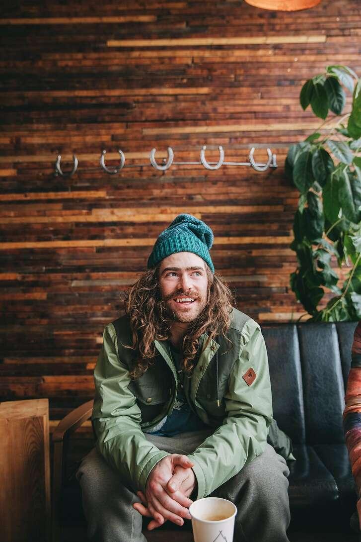 Snowboarder Danny Davis
