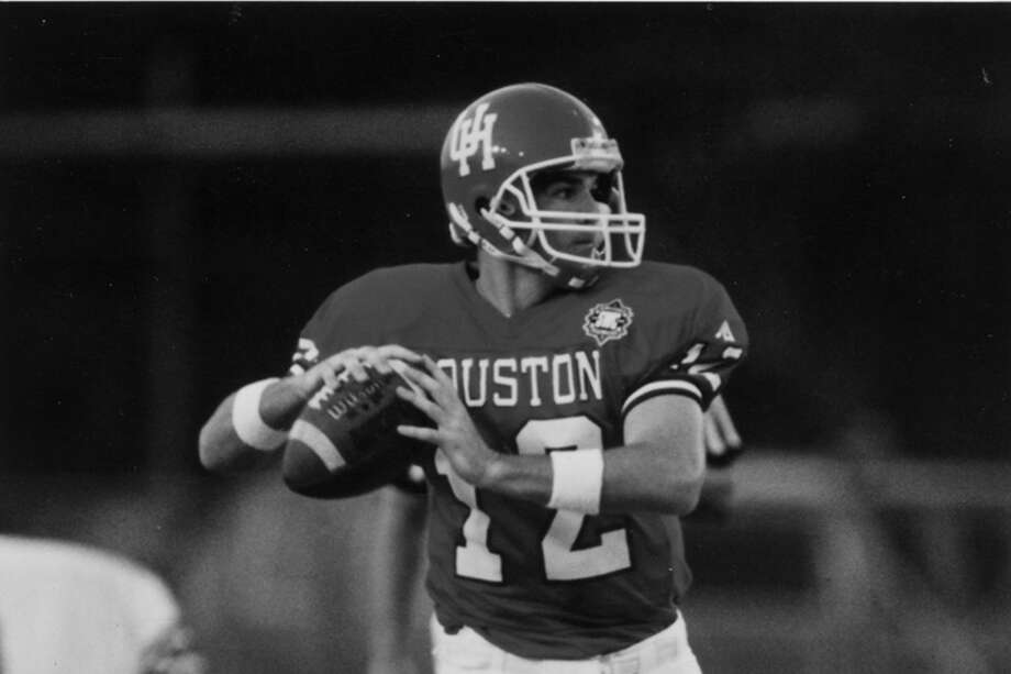 Chuck Clements helped rally UH to a victory over Rice in 1995. Photo: Chuck Clements