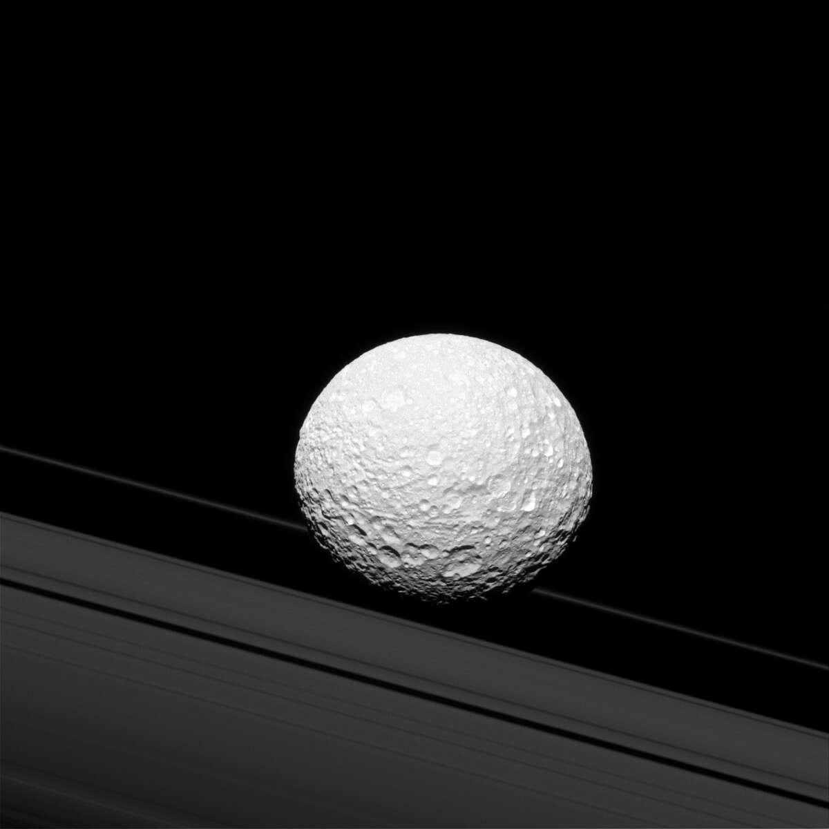 Saturn's moon Mimas Date taken:December 19, 2016