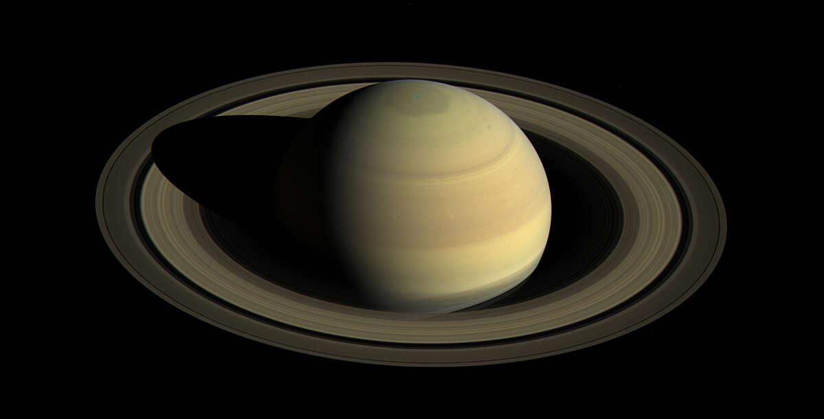 Saturn's northern hemisphere Date taken:September 15, 2016