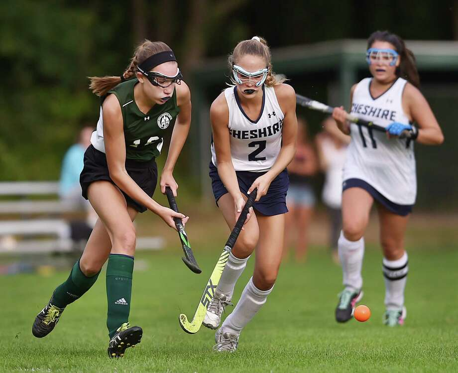 Hamden Hall defeated Cheshire Academy, 3-1, Wednesday, September 13, 2017, at the Beckerman Athletic Center in Hamden. Photo: Catherine Avalone, Hearst Connecticut Media / New Haven Register