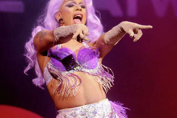 Aja performs at the War on the Cat Walk featuring contestants from RuPaul's Drag Race at the House of Blues Wednesday Sept. 13, 2017.(Dave Rossman Photo)