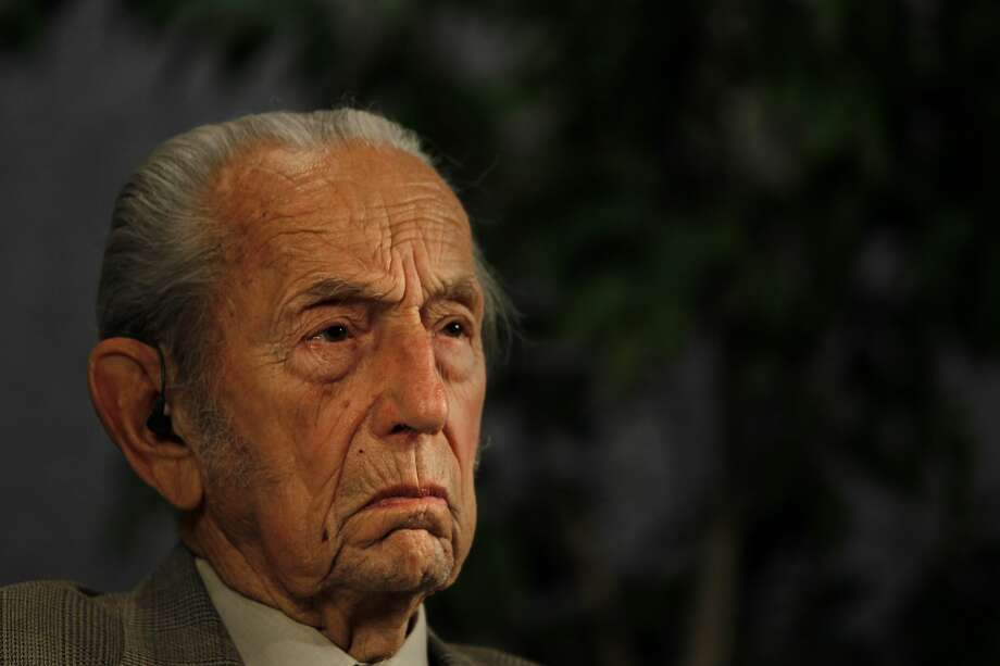 """Harold Camping, delivering what he promises is his final appearance on the radio and TV call in show """"Open Forum"""", which he has hosted for decades. Camping has predicted that the end of the world will come on Saturday, May 21, 2011 starting with a series of earthquakes originating in New Zealand. Family Stations Inc., of which Camping is president, spent an estimated 100 million dollars warning the public of his predicted judgement day.  (Photo by Rick Loomis/Los Angeles Times via Getty Images) Photo: Rick Loomis/LA Times Via Getty Images"""