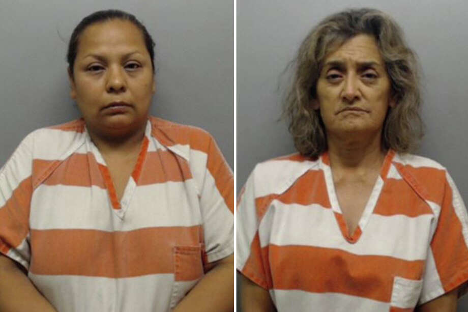 Laredo police said Rosa Elia Lopez Maldonado, 42, would buy large quantities of Alprazolam and Clonazepam in Nuevo Laredo and deliver them to Julia Castañeda Ortiz, 61, in Laredo. Photo: Webb County Sheriff's Office
