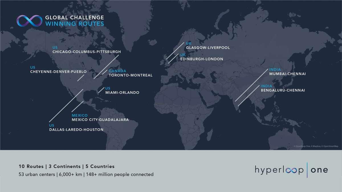 Winners of the Hyperloop Global Challenge