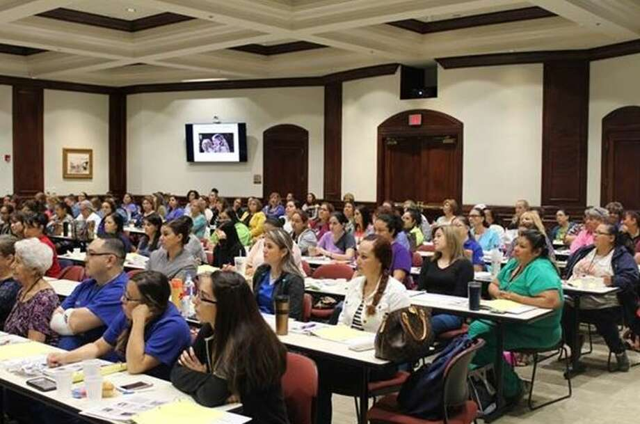 Area nurses attended a conference hosted by the Area Health Education Center at the UT Health Regional Campus Laredo.  Photo: Courtesy