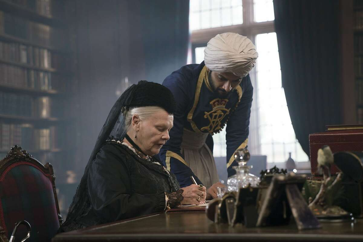 """L-R Judi Dench and Ali Fazal in a scene from """"Victoria and Abdul,"""" opening at Bay Area theaters on Friday, September 29. Credit: Peter Mountain/Focus Features"""