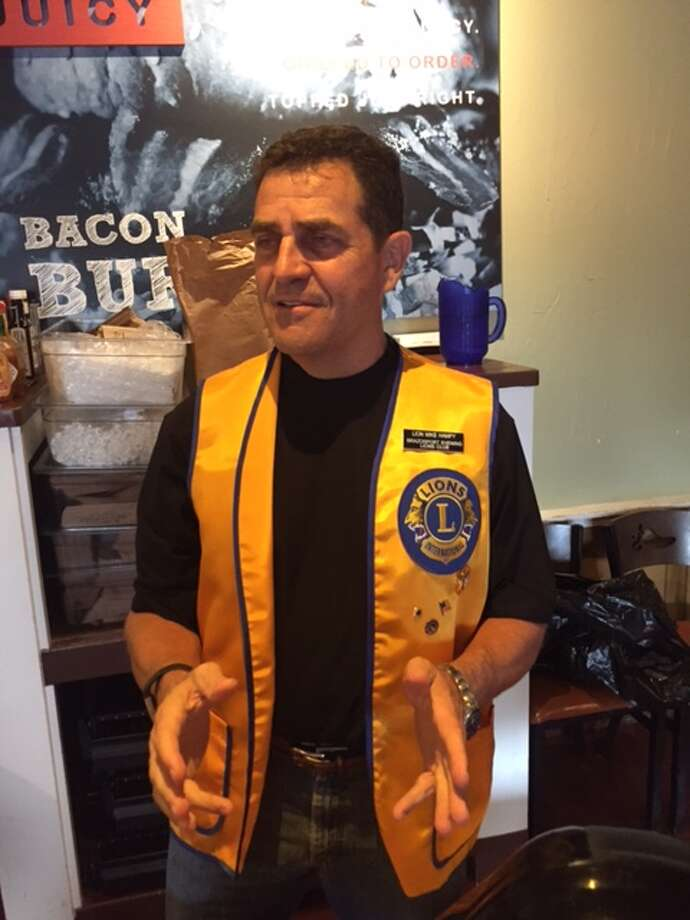 Mike Hampy is president of the Brazosport Evening Lions Club. Photo: Courtesy Of  Brazosport Evening Lions Club