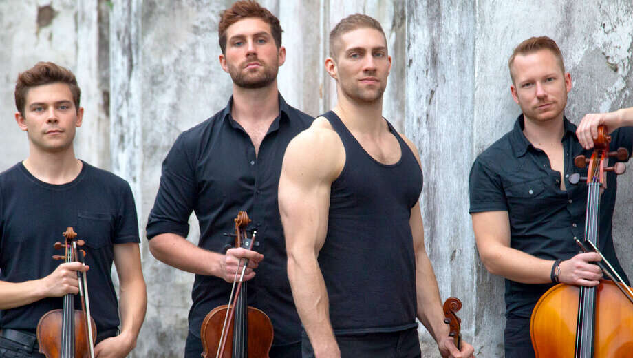 Well-Strung, from left: Edmund Bagnell, violin; Trevor Wadleigh, viola; Chris Marchant, violin; and Daniel Shevlin, cello.