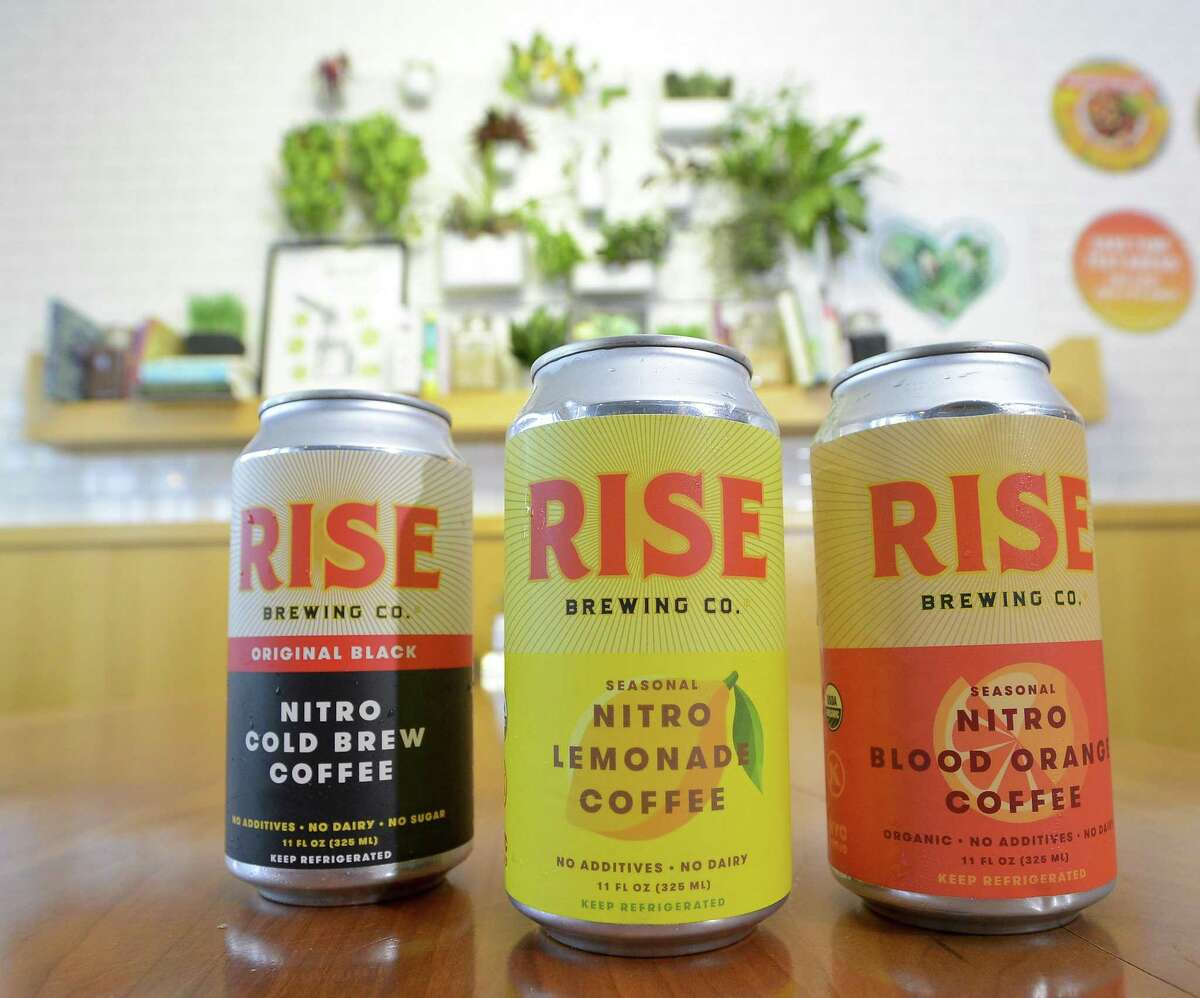 Rise Coffee Company products photograph in Greenwich, Connecticut on Wednesday, August 30, 2017.