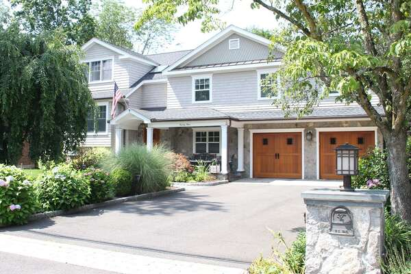 The house at 23 Lancer Road in Riverside, which has undergone a complete renovation, has plenty of room for entertaining. The house has a rear stone patio and a wide lawn and a kitchen made for food-lovers.