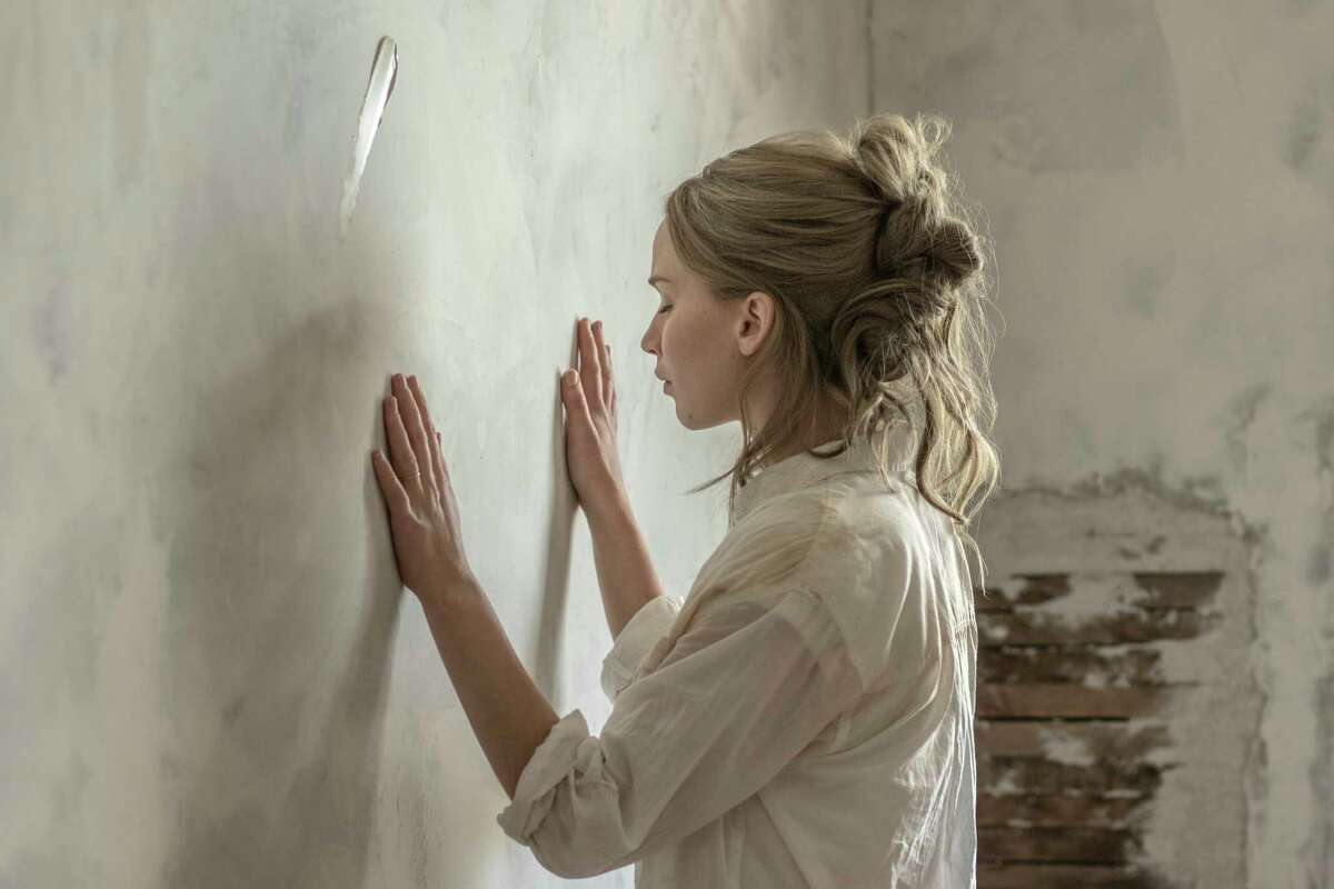 This image released by Paramount Pictures shows Jennifer Lawrence in a scene from
