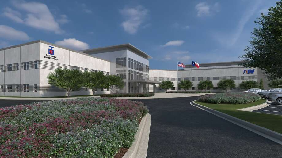 Houston-based AIV plans a 320,000-square-foot headquarters building. Photo: AIV