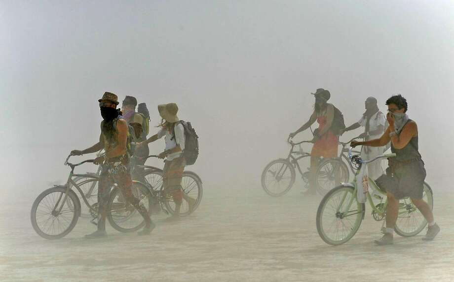 Burning Man forecast: Dust storms, 100-degree temps and lightning all possible