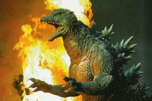 "Godzilla had a lean and hungry look in the 2004 film ""Godzilla: Final Wars."""