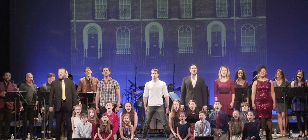 """""""The Who's Tommy,"""" an ACT Production presented at the Ridgefield Playhouse, featured Michael Seelbach as Tommy, Matt Farnsworth as Captain Walker and Jeremy Kushnier as Uncle Ernie."""