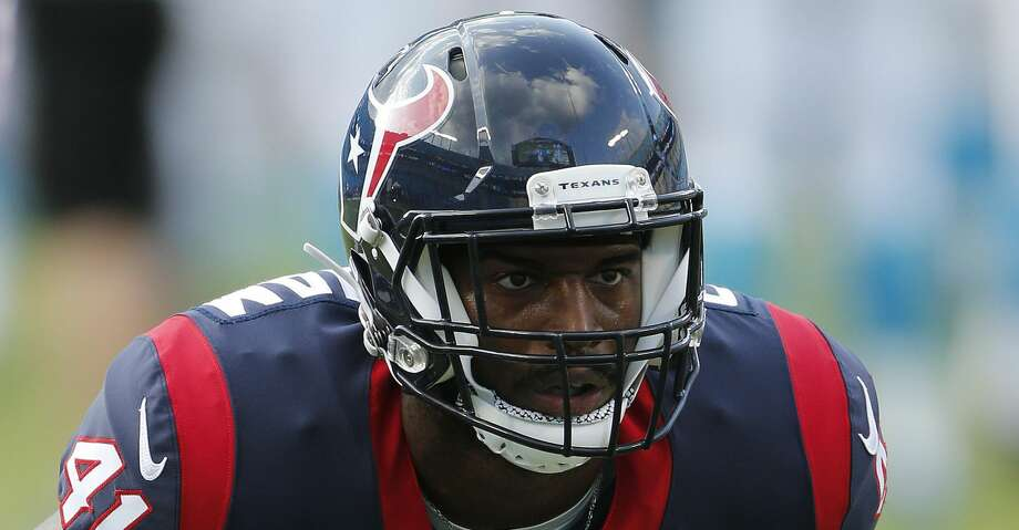 Houston Texans linebacker Zach Cunningham (41) warms up before the first half of an NFL preseason football game between the Carolina Panthers and the Houston Texans, Wednesday, Aug. 9, 2017, in Charlotte, N.C. (AP Photo/Jason E. Miczek) Photo: Jason E. Miczek/Associated Press