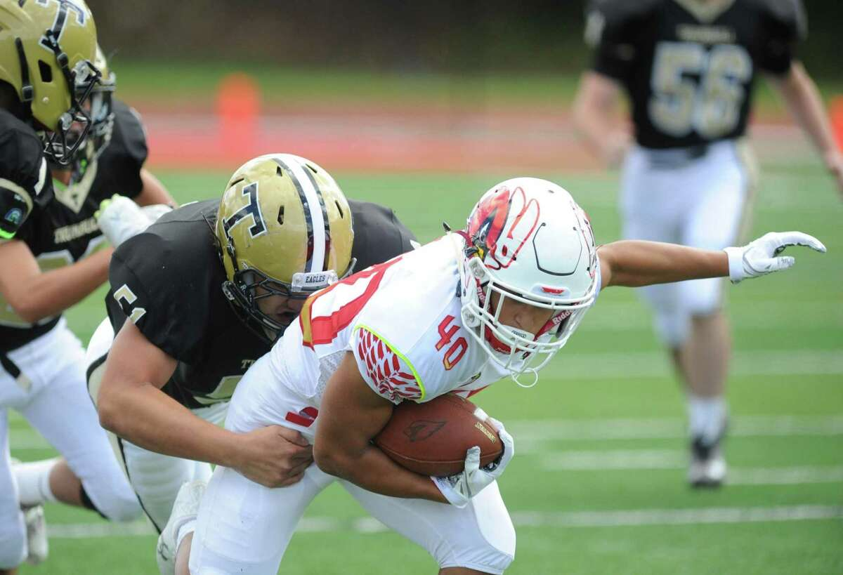 Greenwich, which beat Trumbull 70-16 in its opener, visits 1-0 Trinity Catholic on Saturday.