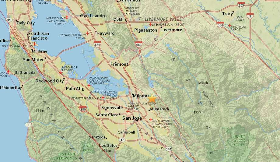 A single quake of 2.8 magnitude shook Mammoth Lakes, Calif. at 7:35 a.m. on Thursday, Sept. 14. Photo: USGS