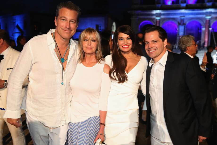 ROME, ITALY - SEPTEMBER 10:  (L-R) John Corbett,  Bo Derek, Kimberly Guilfoyle and Anthony Scaramucci attend the Closing Night Gala at Cinecittà as part of the 2017 Celebrity Fight Night in Italy Benefiting The Andrea Bocelli Foundation and the Muhammad Ali Parkinson Center on September 10, 2017 in Rome, Italy.  (Photo by Jonathan Leibson/Getty Images for Celebrity Fight Night) Photo: Jonathan Leibson/Getty Images For Celebrity Fight Night