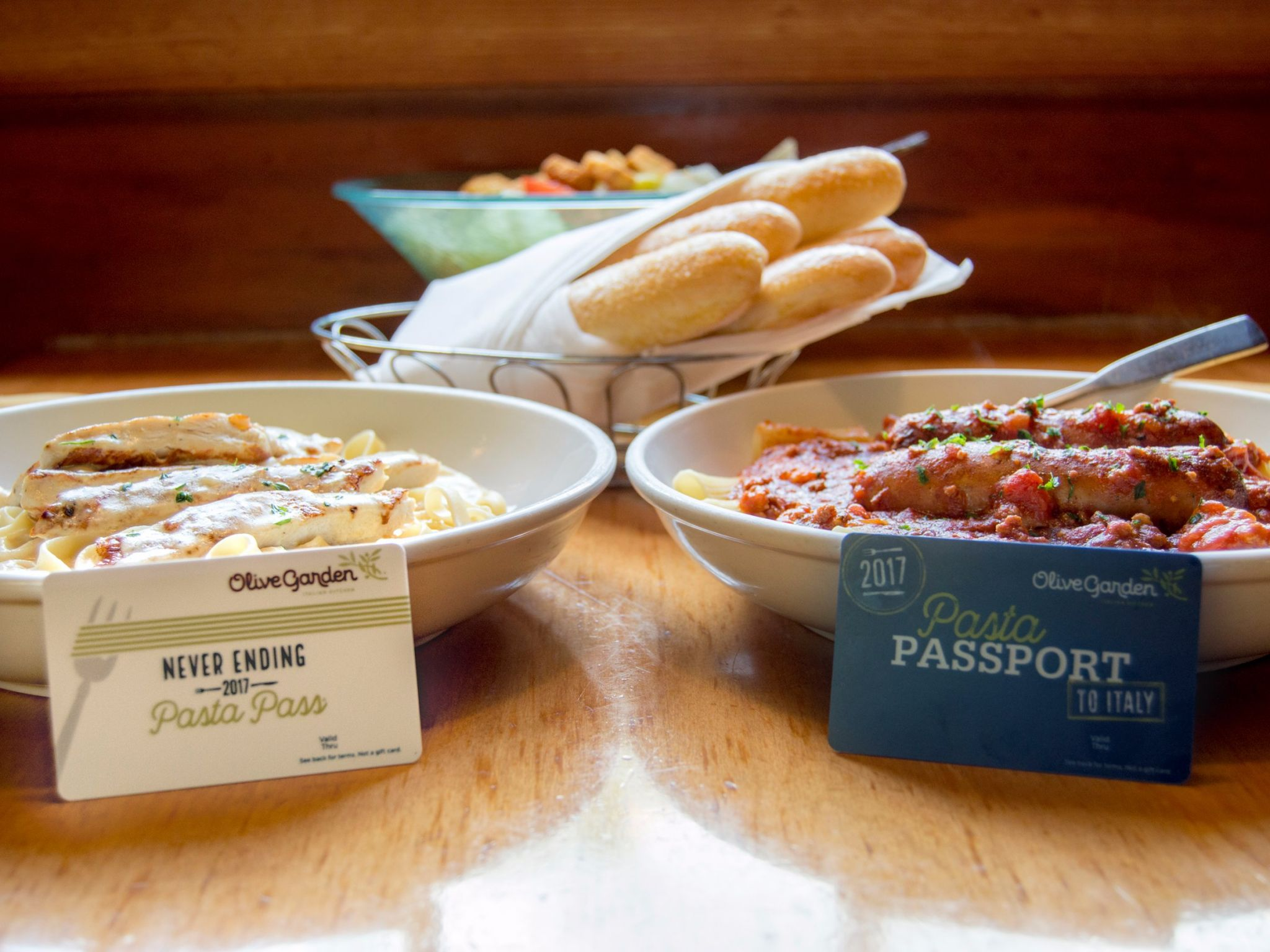 Olive Garden\'s never-ending pasta passes sold out in less than a ...