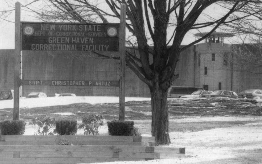 The Exterior of the Green Haven Correctional Facility. 8/31/1995.-3 McBride.