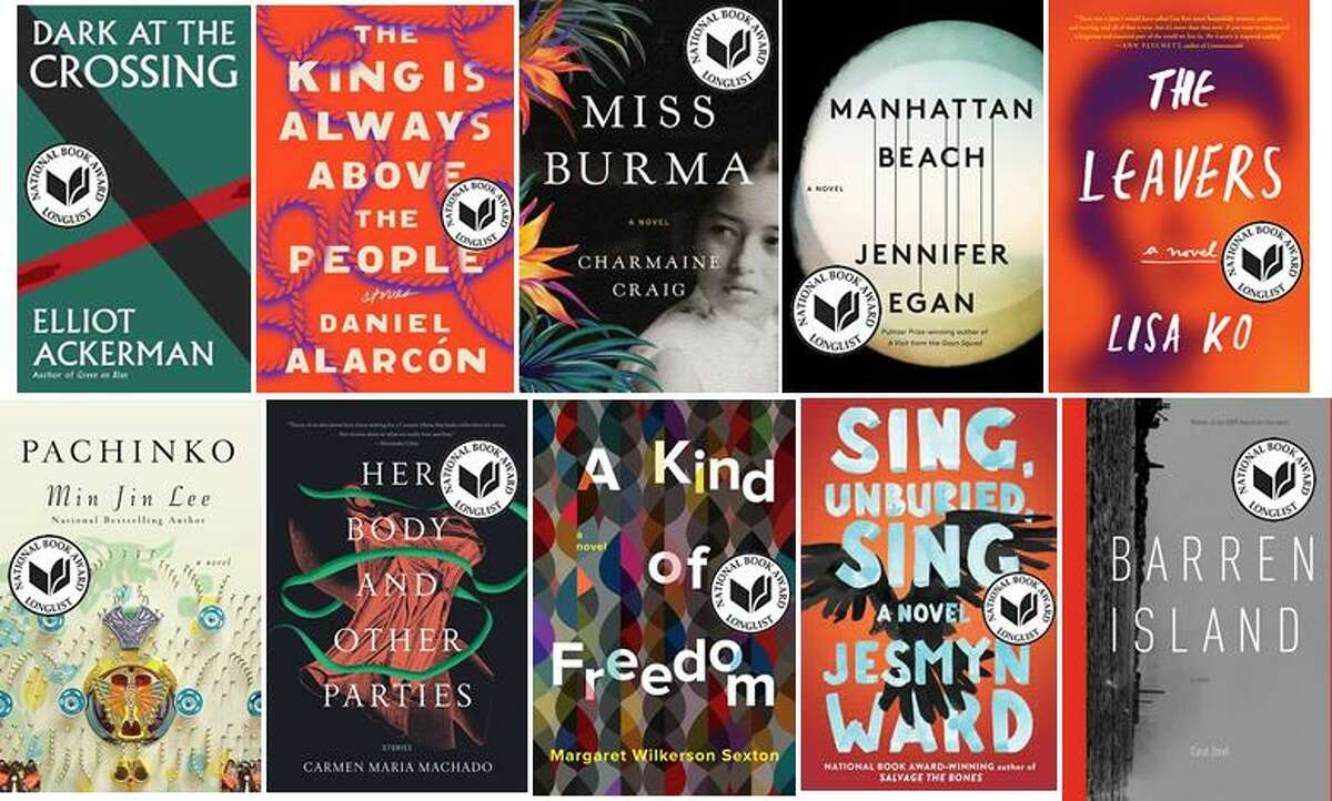 Eight of the 10 novels on the National Book Award longlist were written by women.