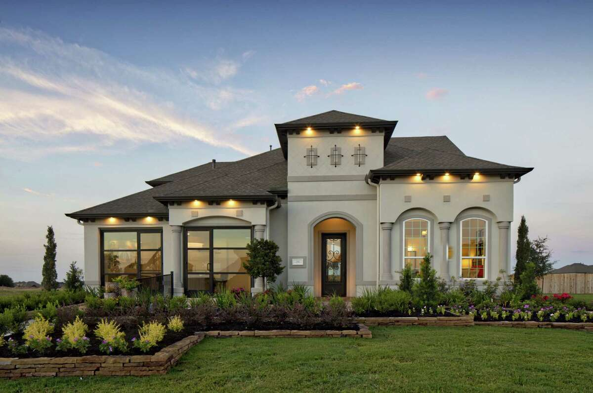 The Juniper Mediterranean is in The Enclave at Ridgefield Heights in Cinco Ranch.