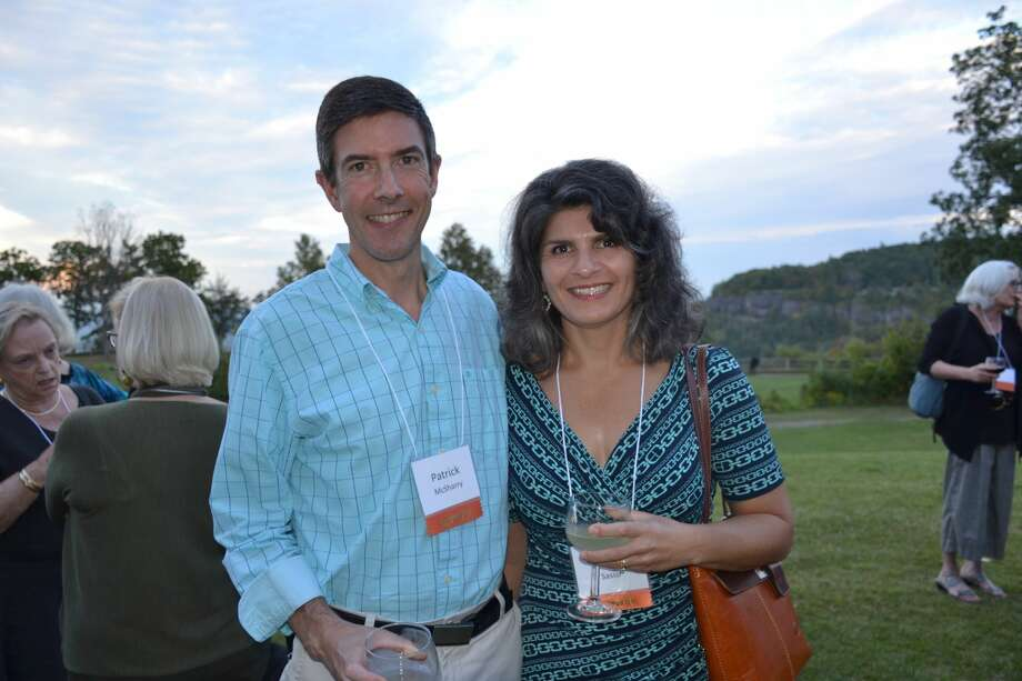 """Were you seen at the Mohawk Hudson Land Conservancy's """"25 Years of Conservation: A Celebration"""" at Thacher State Park Visitor Center in Voorheesville on Sept. 14, 2017? Photo: Mohawk Hudson Land Conservancy"""