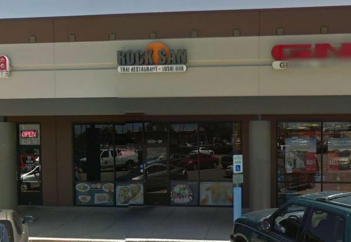 Rock San: 5238 De Zavala Road #128, San Antonio, TX 78249 Date: 09/12/2017 Score: 73 Highlights: Food not held at correct temperature (miso soup); inspector observed