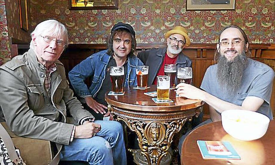 Hilton Valentine and Skiffledog — from left, Valentine, Brian Martin, Tom Smith and David Hurd. Photo: Photo By Germaine Valentine / Courtesy Of Tom Smith