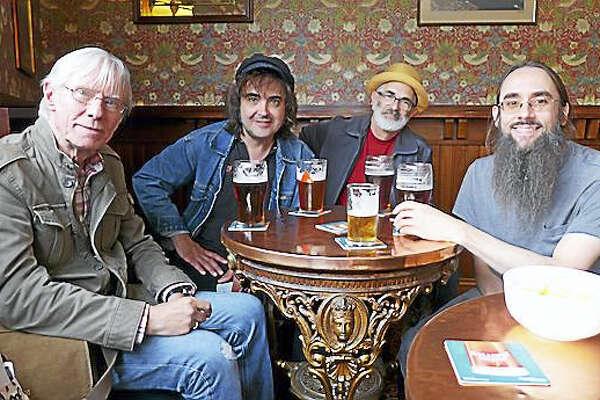 Hilton Valentine and Skiffledog — from left, Valentine, Brian Martin, Tom Smith and David Hurd.