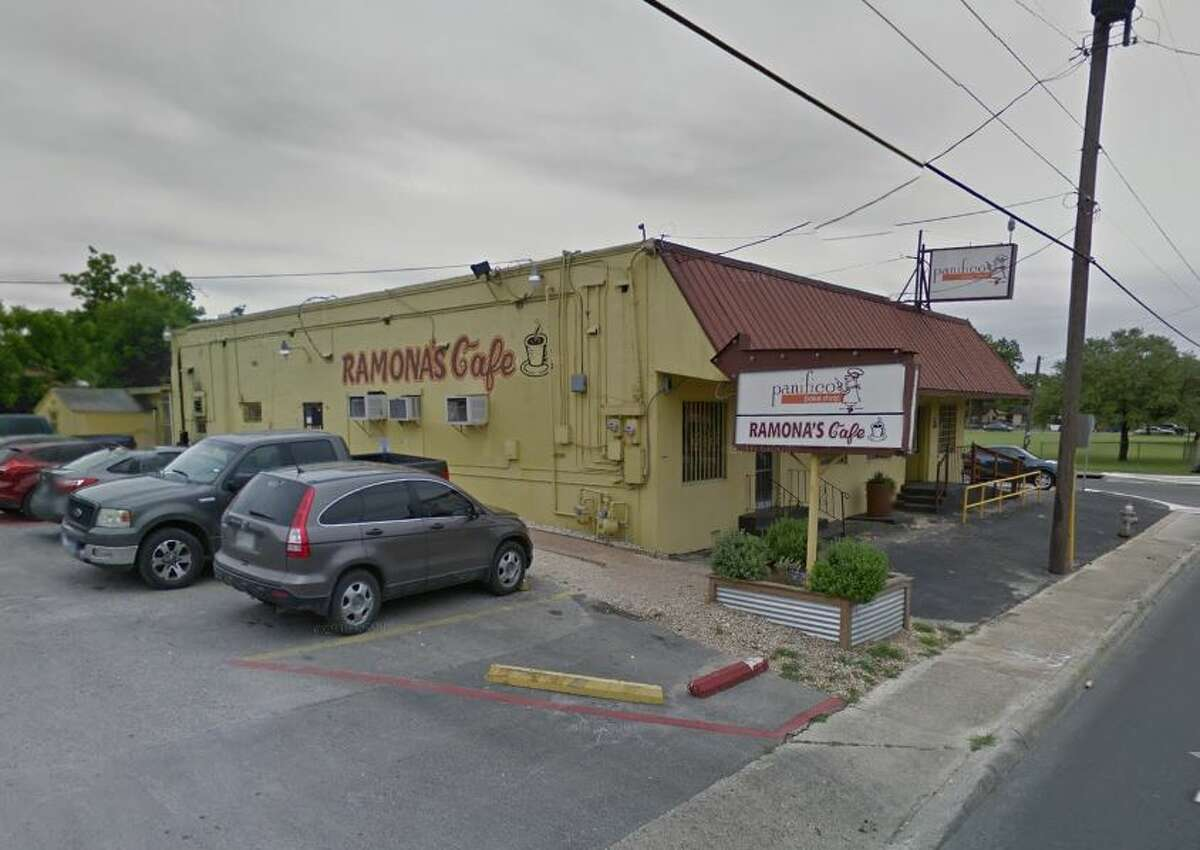 Ramona's Taco: 604 NW 24th St., San Antonio, TX 78207 Date: 11/14/2017 Score: 58 Highlights: Inspector observed employees touching ready-to-eat foods without wearing gloves; food not held at correct temperature; cold water turned off at handwashing sink because faucet will not stop flow of water; no Certified Food manager present at time of inspection; consumer advisory consumption needed for customers; prepared foods must be labeled with expiration date; accurate thermometers not found in coolers; kitchen handwashing sink was clogged with food and grease; non-food contact surfaces must be free of dirt, dust, food debris; most recent inspection report must be posted for customer view