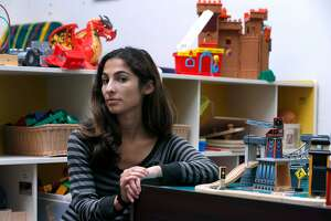 Michaela Azzopardi is seen at her job in the childcare area of Support for Families of Children with Disabilities in San Francisco, Calif. on Saturday, Aug. 19, 2017. Azzopardi has filed a claim seeking unpaid back wages from a previous employer, Wondersitter, which filed for bankruptcy.