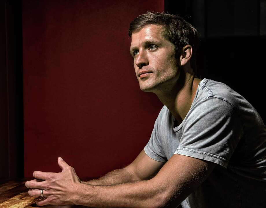 Walker Hayes, who will release a new album Dec. 8 after years of trying to break through in Nashville, after performing at a country radio station in Rockville, Md. Photo: Washington Post Photo By Bill O'Leary. / The Washington Post